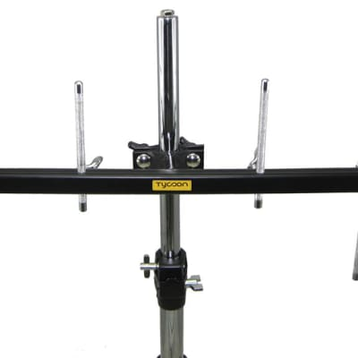 Tycoon Black Mounting Bar – For All Mountable PercussionModel TPMB