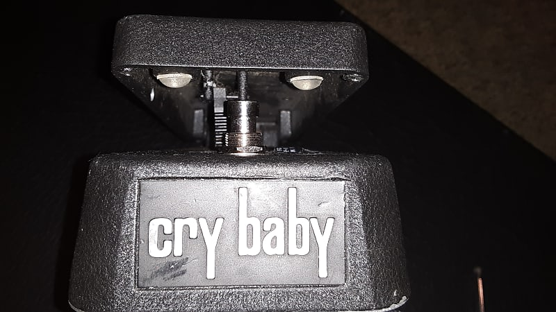 crybaby bass wah black modded gcb 95 clint 39 s gear reverb. Black Bedroom Furniture Sets. Home Design Ideas