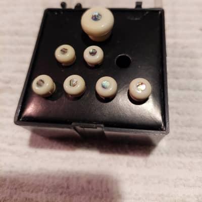 Martin Abalone Bridge Pin Set 2000s  White