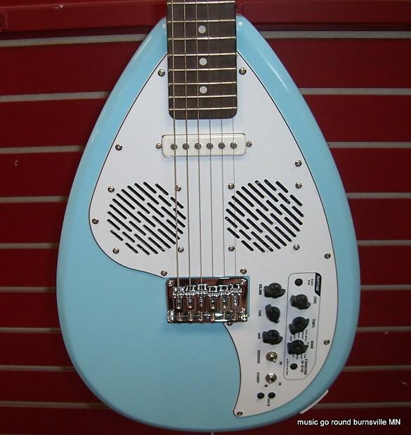 vox apache 1 teardrop seafoam blue travel guitar with reverb. Black Bedroom Furniture Sets. Home Design Ideas