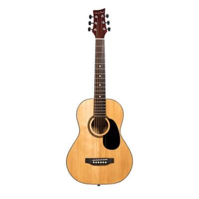 Beaver Creek 401 Series Acoustic Guitar 1/2 Size Natural w/Bag BCTD401 for sale