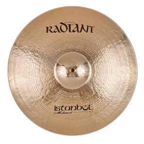 "Istanbul Mehmet 15"" Radiant Medium Crash Cymbal"