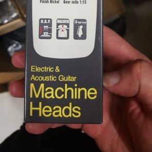Gotoh Tuning Keys Vintage 6-in-Line 15:1 Nickel