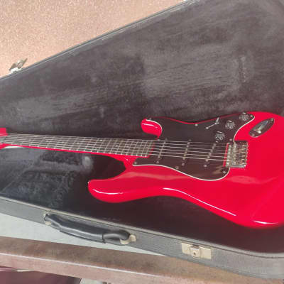 Maison SL Stratocaster 1987 red for sale