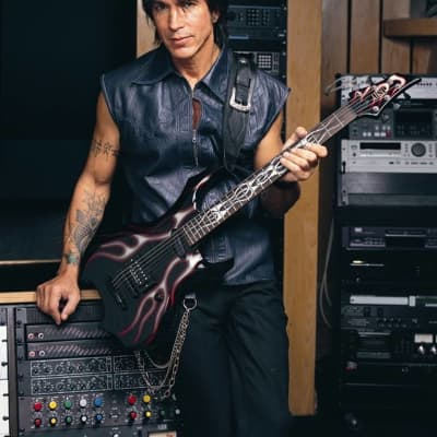ESP Custom Shop George Lynch Tribal Flame Baritone GL-FB signed by Mr. Scary for sale