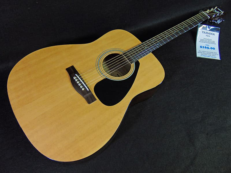 1315d8d5373 Description; Shop Policies. You are viewing a Yamaha F310 acoustic guitar  in natural ...