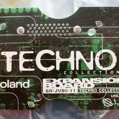 Tested! Roland srjv80 srjv-80 sr-jv-80 SR-JV80-11 TECHNO Collection Expansion Sound Board ROM Dance