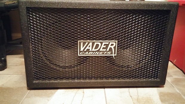 Vader 2x12 Guitar Cabinet Closed Back 2000s Black | Reverb