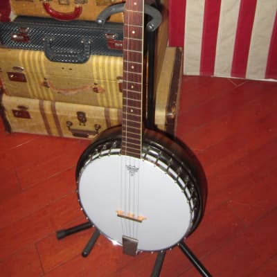 Vintage Original 1965 Harmony Banjo White for sale