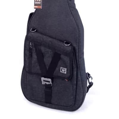Gator Transit Electric Guitar Deluxe Gig Bag (Black)