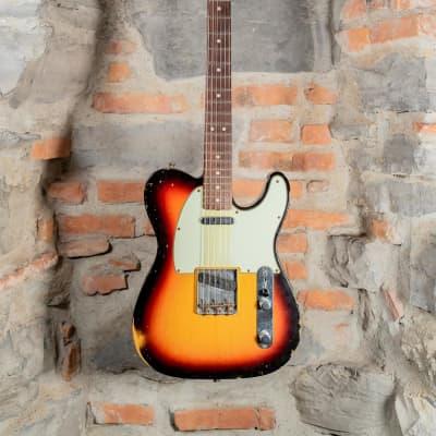 Fender Custom Shop Telecaster 63 Relic Sunburst  2014 for sale
