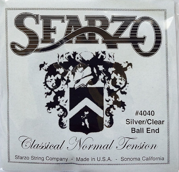 sfarzo 4040 classical guitar strings normal tension reverb. Black Bedroom Furniture Sets. Home Design Ideas