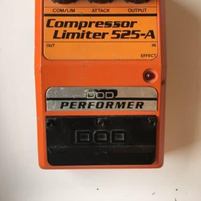 DOD Digitech 525-A Performer Compressor Limiter Guitar Effect Pedal *READ*