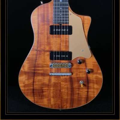 Asher Electro Sonic ES-1 with Koa Top for sale