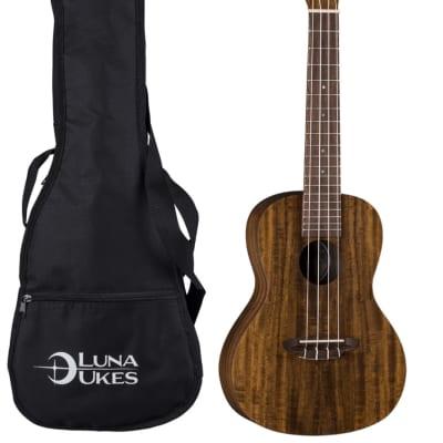 Luna UKE-ACS Flamed Acacia Soprano Ukulele
