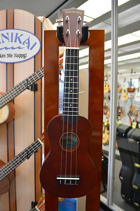 Diamond Head DU-150 Soprano Ukulele - Natural