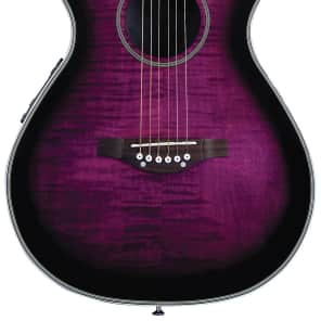 Daisy Rock DR6222-A Pixie Acoustic/Electric, Plum Purple Burst, New, Free Shipping for sale