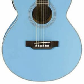 JB Player JBEA15 Bloom Acoustic-Electric Single-Cutaway Guitar - Blue for sale