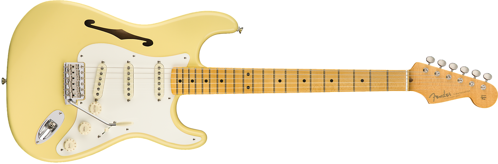 Fender 0113602741 ERIC JOHNSON SIGNATURE STRATOCASTER® THINLINE - Ships FREE Lower 48 States!