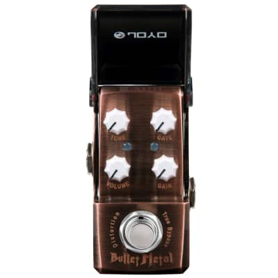 JOYO Bullet Metal Distortion Built in GATE IRON MAN Mini Series JF-321 NEW! FREE SHIPPING for sale