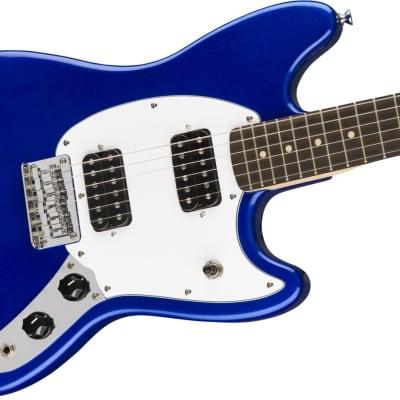 Fender Squier Bullet® Mustang® HH, Laurel Fingerboard, Imperial Blue