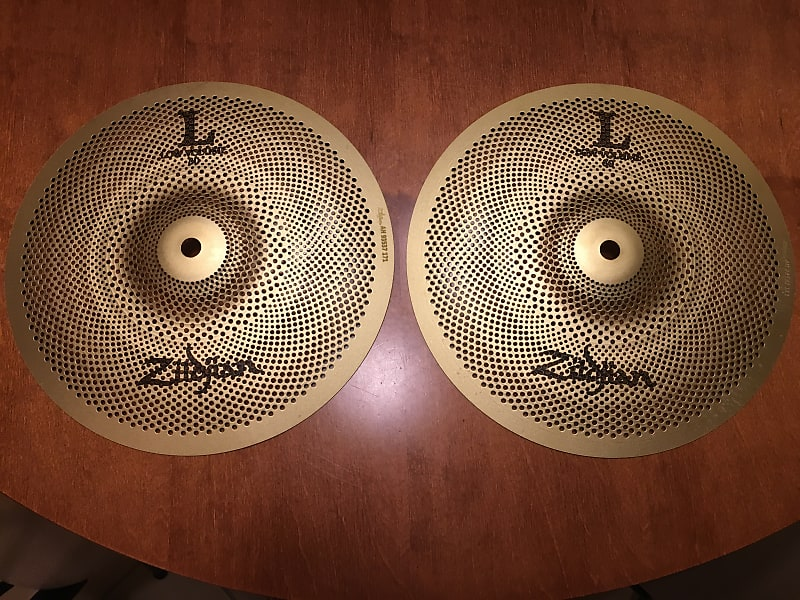 zildjian l80 low volume pair of two 2 10 cymbals reverb. Black Bedroom Furniture Sets. Home Design Ideas