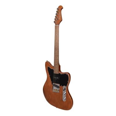 J&D Luthiers Hybrid JM-Style Electric Guitar (Natural Satin) for sale