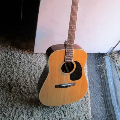 Mitchell Acoustic Guitar model MD-100. Fair shape for sale