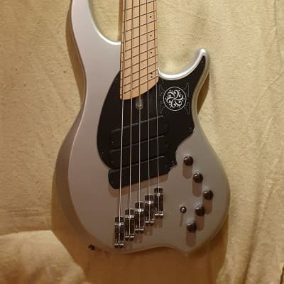 Limited to 222 Worldwide! Dingwall NG-3 Darkglass Electronics 10th Anniversary 5-String 2019 Silver for sale