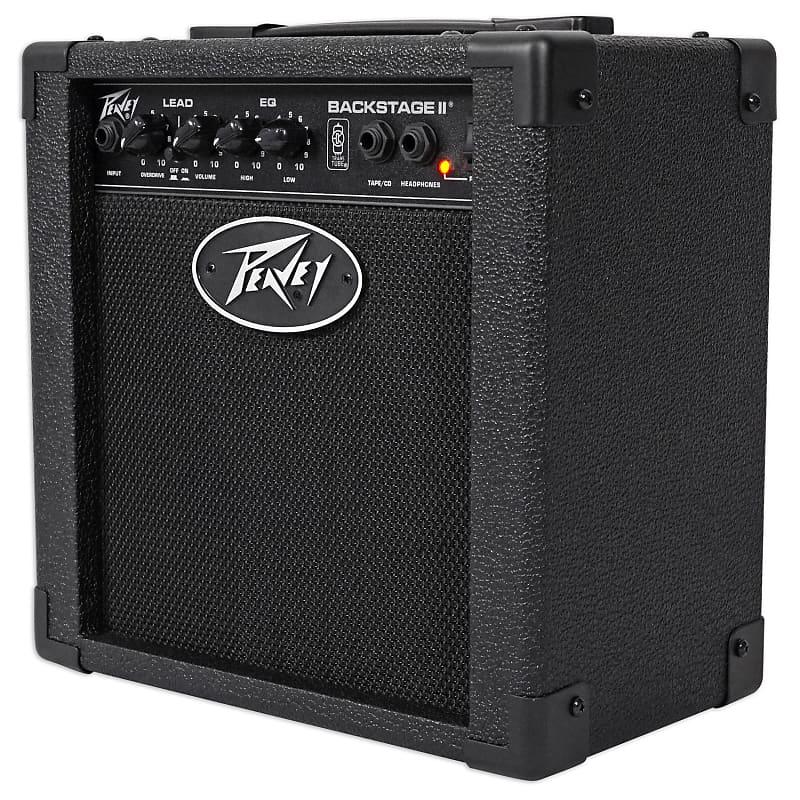 peavey backstage 10w combo guitar amplifier 2 switchable reverb. Black Bedroom Furniture Sets. Home Design Ideas