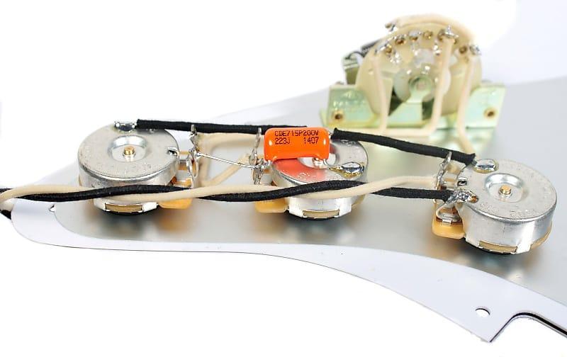 920d custom s5w loaded pre wired stratocaster pickguard reverb. Black Bedroom Furniture Sets. Home Design Ideas