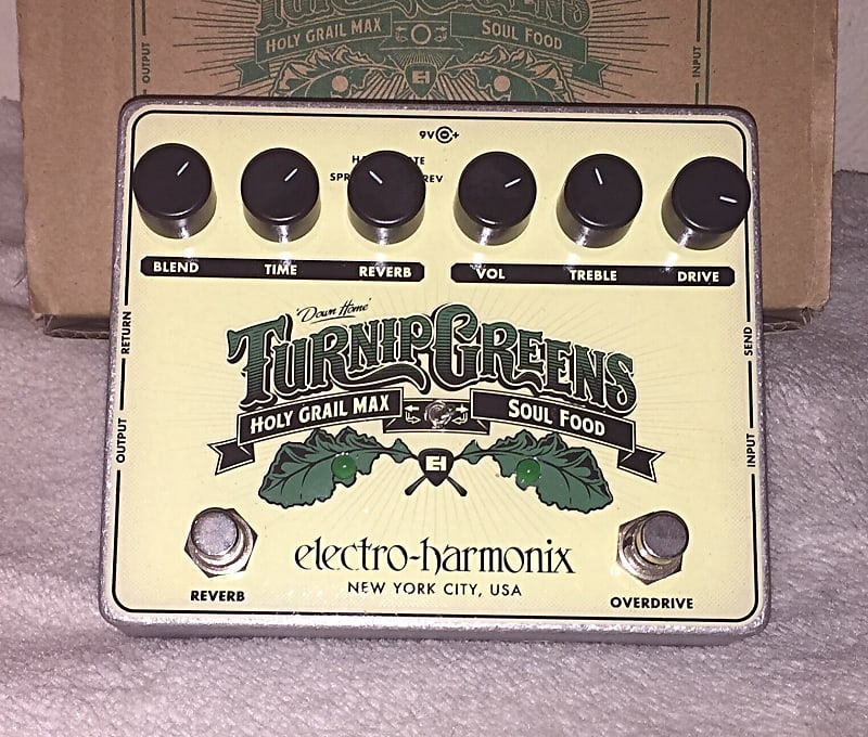 electro harmonix turnip greens multi effect pedal reverb. Black Bedroom Furniture Sets. Home Design Ideas