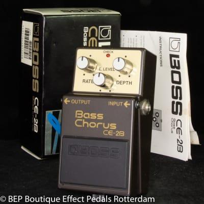 Boss CE-2B Bass Chorus 1991 s/n AC21999