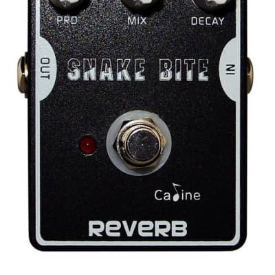 Caline CP-26 Snake Bite Reverb Delay Superb Ambient Response a lot of control FREE SHIPPING