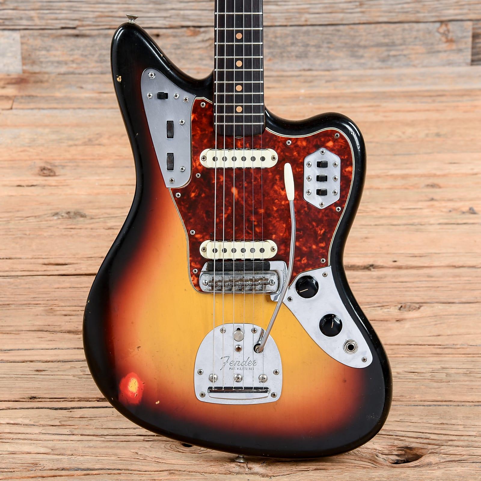 Fender Jaguar Sunburst 1963