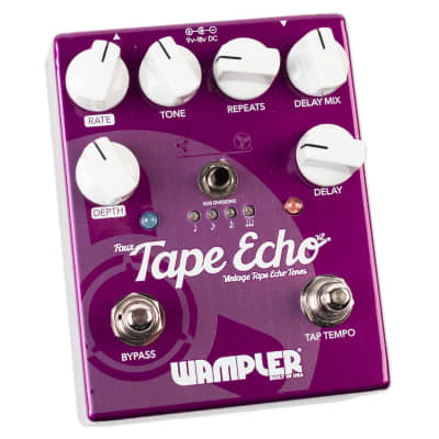 WAMPLER FAUX TAPE ECHO (WITH TAP TEMPO) V2 for sale