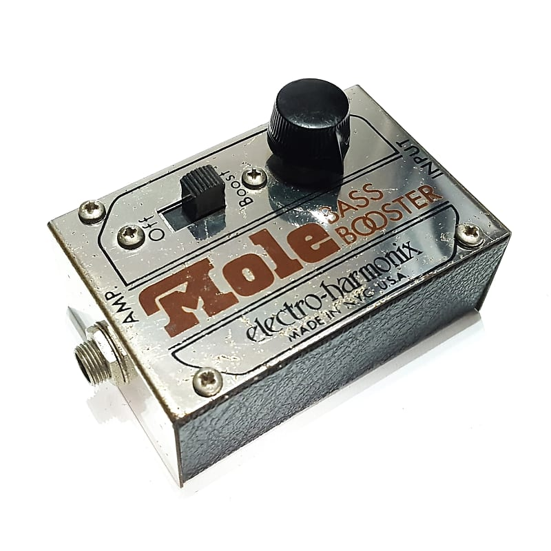 vintage electro harmonix mole bass booster original 1970s reverb. Black Bedroom Furniture Sets. Home Design Ideas