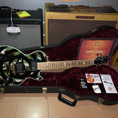 Gibson Zakk Wylde Les Paul Custom 2005 Camo First Run for sale