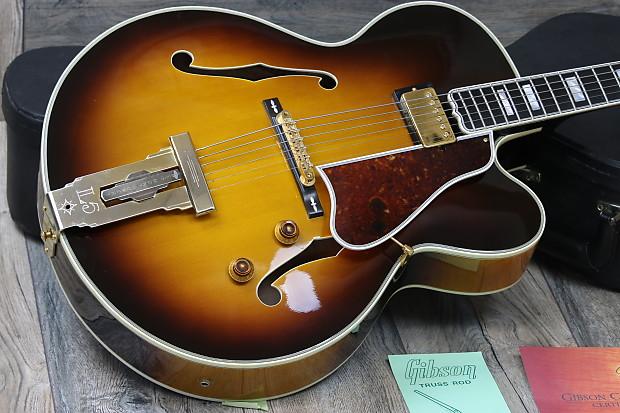 Gibson Custom L 5 Ces Wes Montgomery 2002 Sunburst James Reverb