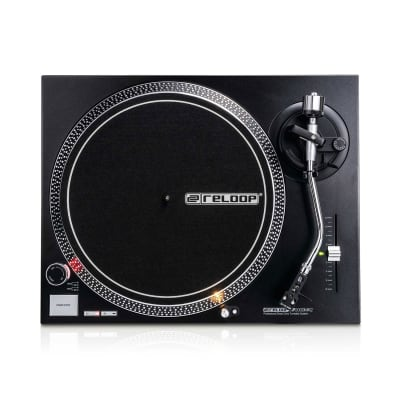 Reloop RP-2000-USB-MK2 Direct Drive Turntable w/ Needle, USB Transfer