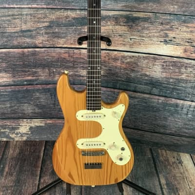 Used Hofner 70s 165 2 Pickup German Built Electric Guitar with Case - Natural for sale