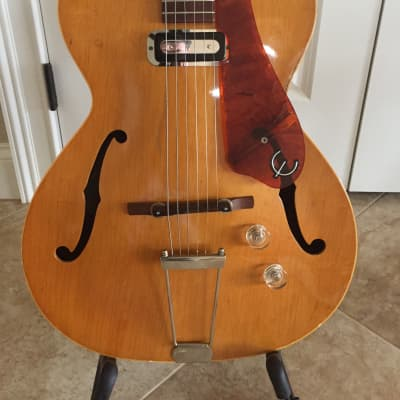Epiphone Harry Volpe Model Archtop 1955 Natural for sale