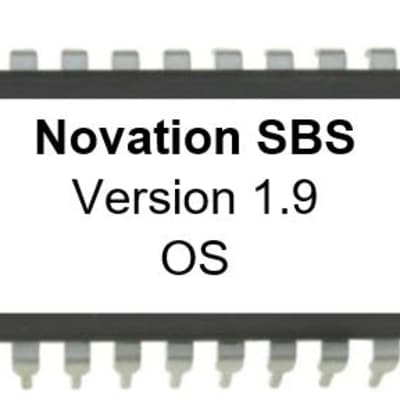 Novation Super Bass Station - Latest OS v 1.9 Eprom Upgrade Update Firmware