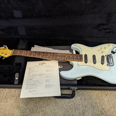 G&L Legacy Special 2015 Sonic Blue with Hardshell Case & Papers for sale