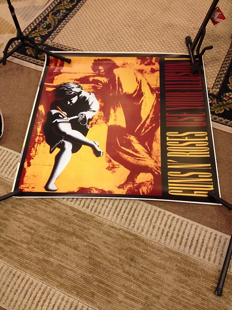 Guns And Roses Promo Lightbox Promo Poster 1991 | Mom's Music