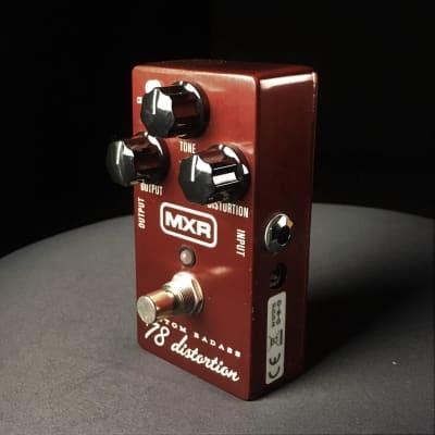 Used MXR M78 Custom Badass '78 Distortion Guitar Effect Pedal