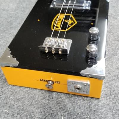 Jeff's Custom Cigar Box Guitars  Camacho 3 String electric Cigar Box Guitar  2021 Wood for sale