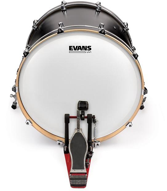 evans 20 uv1 coated bass drum head reverb. Black Bedroom Furniture Sets. Home Design Ideas