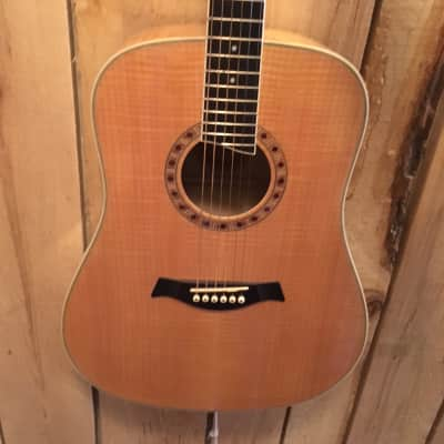 Jay Turser Acoustic Guitar HDD18 Natural Finish for sale
