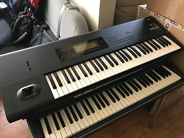 Korg T3 Synthesizer Workstation: Korg T-3: Korg M1